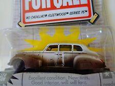 "JADA DIECAST ""FOR SALE"" - 1940 CADILLAC FLEETWOOD SERIES 75 - 1:64- NIP"