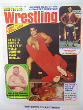 Ben Strong Wrestling  November  19773  Billy Graham Career In Pictures