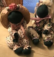 Bonnie Sewell Collectible Handmade Frogs!