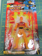 Unopened Super Ninja LIghts up with accessories  - helmet, sword, knife and more