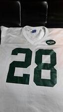 NFL Football Champion CURTIS MARTIN No. 28 NEW YORK JETS Jersey Rare size 44