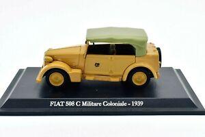 Fiat 508 C militaire voiture Véhicules-jouets auto 1:43 Modèle Static diecast
