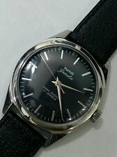HMT JANATA 17j. Hand winding vintage watch~ Beautiful Black dial