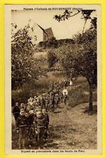 cpa FRANCE 25 MAISON d'ENFANTS de ROUGEMONT (Doubs) Colonie de Vacance Promenade