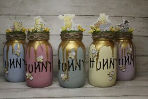 NEW COLOR OPTIONS!!!  HUNNY POT Winnie the Pooh baby Shower Decorations