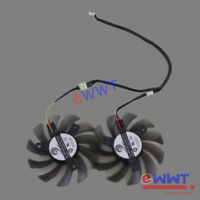 for Gigabyte Graphics Card PLD08010S12H Replacement 3Pin GPU Cooling Fan ZVOT780