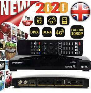 OPENBOX V8S PLUS 4G Full HD PVR (UK SELLER) +1 Year Free Gift /with Support