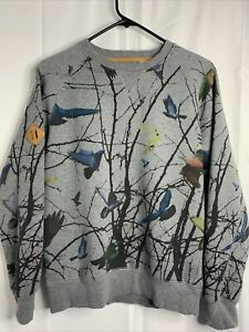 Men's Staple The Rugged Outdoors Of New York City Crew Bird Sweatshirt Small