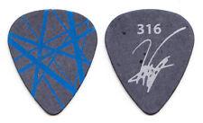 Van Halen Wolfgang Van Halen Black Blue Frankenstrat Guitar Pick #2 - 2007 Tour