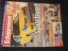 ** Revue Echappement n°438 Renault Sport Clio 2.0 16V / Monte Carlo