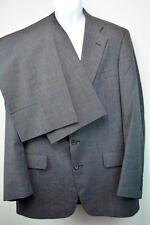 GANT HERITAGE 2-Button Fully Lined Suit w/ Pants 34x33 Grey Windowpane Men's 40R