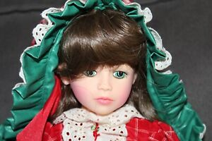 Boxed PITTSBURGH ORIGINALS Chris Miller LITTLE RED RIDING HOOD Vinyl Doll