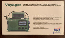 Katio Voyager 4-Way Powered Emergency Weather Alert Radio W/ Cell Phone Charger