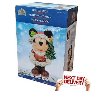 Disney 17 Inch (43.2cm) Mickey Greeter Old St Mick Jim Shore Christmas Xmas