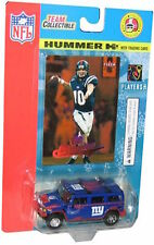 NFL H2 Hummer 1:64 with Eli Manning Rookie Card - New In package - Great Gift!