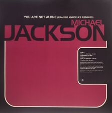 "Michael Jackson You Are Not Alone(Frankie Knuckles Remixes)12""Vinyl Promo UK1995"
