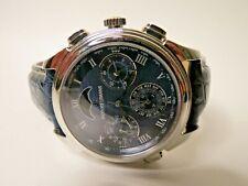 Jacques Lemans Minute Repeater Men's Watch 42mm Navy Blue