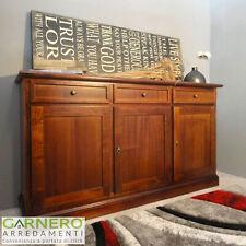 Credenza ARTEMIDE Gihome® noce arte povera legno mobile madia cassetti soggiorno