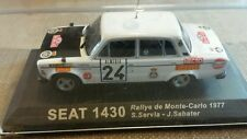 Diecast rally car collection deagostini SEAT 1430