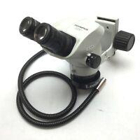 Olympus SZ51 Microscope Head, Stereo, 0.8x to 4x, With WHSZ10X-H/22 Eyepieces