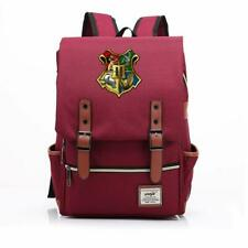 Bag Harry Potter Canvas Hogwarts Travel Backpack Map Schoolbag School Slytherin