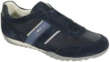 sale   GEOX Wells A sneakers sale tex+suede navy