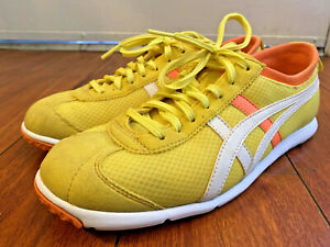Onitsuka Tiger by Asics Rio Runner (Yellow/White) Class Shoes Size Women's 7.5