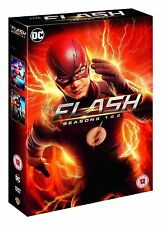 The Flash Complete Series 1-2 DVD All Episode 1 and 2 Season Original UK Release