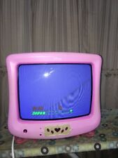 "DISNEY PRINCESS P1300ATV 13"" CRT GAMING BEDROOM TV TELEVISION PINK CCTV $0 SHIP"