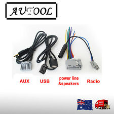 Audio Harness cable for HONDA original Head unit Stereo USB AUX  Radio AU seller