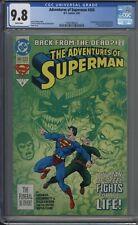 Adventures of Superman # 500 CGC 9.8 Death of Superman Storyline
