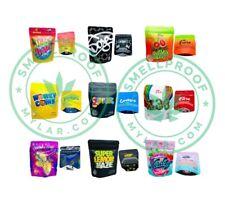 🔥NEW🔥 Gummies Patch Packaging Empty Zip Lock Aluminum Foil Bag 5x4inch 6x4inch
