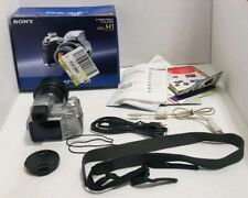 Sony Cyber-shot DSC-H1 5.0MP Digital Camera IN BOX TESTED FREE SHIPPING AS - IS