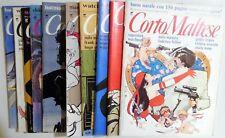 LOTTO RIVISTA MAGAZINE CORTO MALTESE ANNO 7 1989 COMPLETA MENO N.1-11 +INSERTI