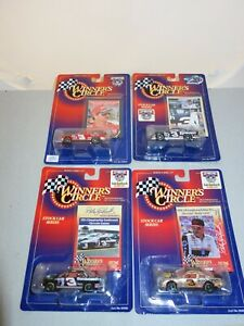 """Dale Earnhardt """"Winners Circle"""" Life Time Series #3 Chevy Diecast-1:64 -4 Cars"""