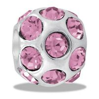 DaVinci Beads October Birthstone Cubic Zirconia Ball Bead #DB44-1