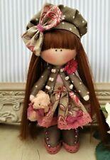 Rag doll handmade in the UK Tilda doll Ooak doll Cloth doll EVIE 6 inch tall