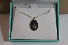"""STAR GRAPHIC 18"""" NECKLACE AND MWS 925 STERLING SILVER PENDANT NEW IN BOX!"""