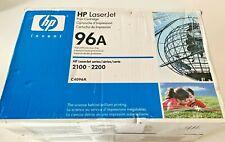 OEM HP C4096A 96A Toner LASER JET 2100 2200 GENUINE NEW FACTORY SEALED BOX