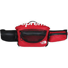 Supreme x The North Face Waterproof Waist Bag SS17 - Red