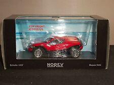NOREV VOLKSWAGEN VW CONCEPT T RED DIECAST MODEL CAR