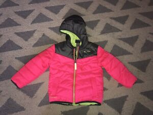 C9 By Champion Baby Girls 18 Mon Pink Venture Puffer Jacket Water Wind Resistant