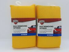NEW 2 Auto Drive Bug Removing Sponges Soft Scrubber No Scratch Clear Coat Safe