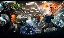 """DotA 2 Poster Art Decor Silk Wall Posters for Gamers Room Prints 40x24"""" Q103.1"""
