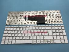 For SONY Vaio FIT 15E SVF 15E SVF15E SVF152C29M Latin Spanish keyboard White