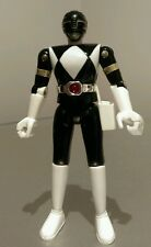 Extremely Rare 1st Edition Metal Black Power Ranger Figure 1991 Light Up Belt