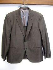 vtg Dekko Mode Blazer Sport Coat Windsor copper cotton/linen 2 btn sz 42R
