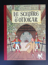 Album Fac similé couleur Tintin Le sceptre d'Ottokar 2005 ETAT NEUF Hergé