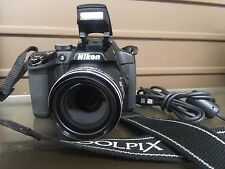 NIKON COOLPIX (P510) 16.1MP 3''Screen 41.7x Zoom Digital Camera - MINT - NR!!
