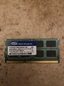 Memoria RAM per Laptop 8GB 2Rx8 PC3L 12800S DDR3L 1600 MHz